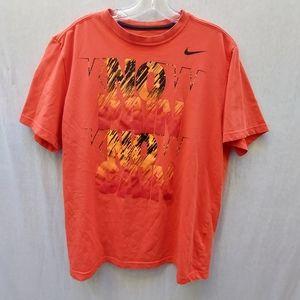Nike Orange No Pain No Gain Men's T-Shirt